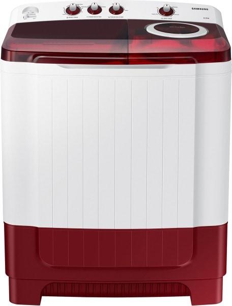 Samsung 8.5 kg Semi Automatic Top Load Washing Machine (WT85R4200RR/TL, Red & White)