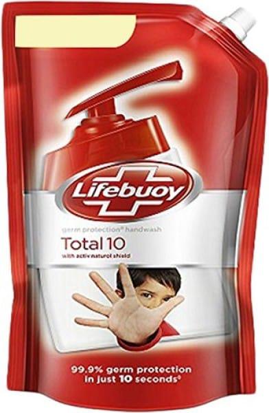 Lifebuoy Total 10 Germ Protection Activ Silver Formula Hand Wash (800ML)