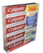 Colgate Total Advanced Whitening Toothpaste (227GM, Pack of 5)