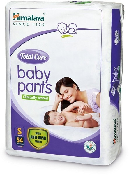 Himalaya Total Care Anti-Rash Baby Pants (54 PCS, S)
