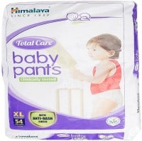 Himalaya Total Care Anti-Rash Baby Pants (54 PCS, XL)