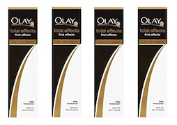 Olay Total Effects First Effects Daily Moisturizer (50ML, Pack of 4)