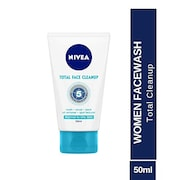 Nivea Total Face Cleanup (50ML)