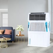 Symphony Touch 110 Air Cooler (White, 110 L)