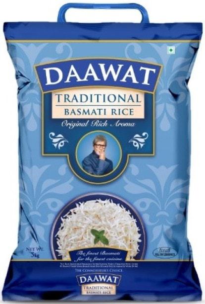 Daawat Traditional Basmati Rice (5KG)