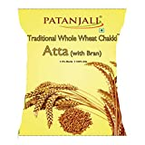 Patanjali Traditional Whole Wheat Flour with Bran (5KG)