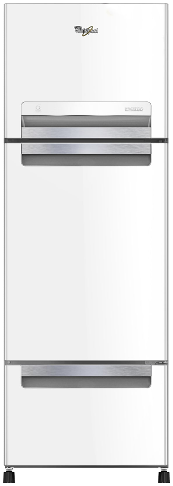Whirlpool 240 L Frost Free Triple Door 4 Star Refrigerator (FP 263D PROTTON ROY, Mirror White)