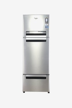 Whirlpool 300 L Frost Free Triple Door 3 Star Refrigerator (FP 313D PROTTON ROY, Alpha Steel)