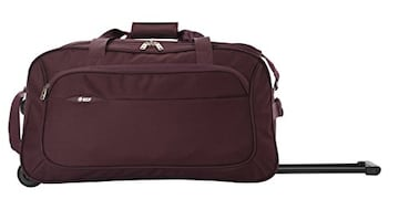 VIP Troy Duffle Trolly Luggage (26 Inch, Purple)