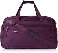 VIP Troy Duffle Trolly Luggage (24 Inch, Black)