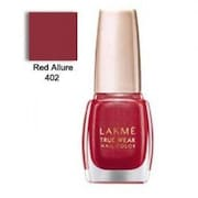 Lakme True Wear Color Crush Nail Color (Red, 9ML, Pack of 2)