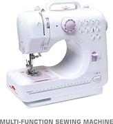 TradeAiza TT-S14523 Electric Sewing Machine (White)