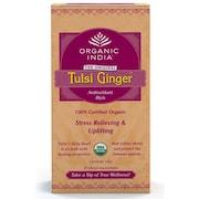 Organic India Tulsi Ginger Tea (50GM, 25 Pieces)