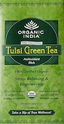 Organic India Tulsi Green Tea Classic (25 Pieces)