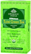 Organic India Tulsi Green Tea Classic (150GM, Pack of 3, 25 Pieces)
