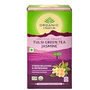 Organic India Tulsi Green Tea Jasmine (77GM)