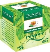 TE-A-METulsi Green Tea (15GM, 10 Pieces)