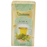 Chamong Tulsi Herbal Green Tea (82GM, 25 Pieces)