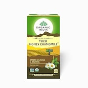 Organic India Tulsi Honey Chamomile Tea (50GM, 25 Pieces)