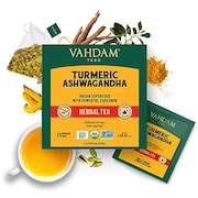 Vahdam Turmeric Ashwagandha Herbal Tea (30GM, 15 Pieces)