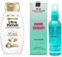 Garnier Ultra Blends Soy Milk & Almonds Shampoo (100ML, Pack of 2)