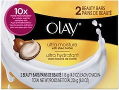 Olay Ultra Moisture Beauty Barsoap (133GM, Pack of 2)