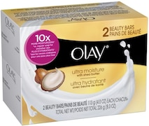 Olay Ultra Moisture With Shea Butter 2 Beauty Barsoaps (226GM, Pack of 2)