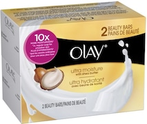Olay Ultra Moisture With Shea Butter Bar (100GM, Pack of 2)