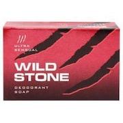 Wild Stone Ultra Sensual Deodorant Soap (125GM, Pack of 3)