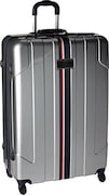 Tommy Hilfiger Unisex Lochwood Suitcase (Silver, Small)