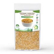 Organic Delight Unpolished Toor Dal (Yellow, 500GM)