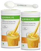 Herbalife Nutritional Shake Mix Formula-1 (Mango, 500GM, Pack of 2)