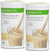 Herbalife Nutritional Shake Mix Formula-1 (French Vanilla, 500GM, Pack of 2)
