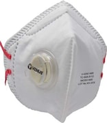 Venus V-4200 N95 Dust Protection Anti Pollution Mask (White, Pack of 5)