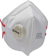 Venus V-4200 N95 Dust Protection Anti Pollution Mask (White, Pack of 2)