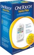 OneTouch Verio Flex Glucometer (10 Strips, White)