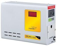 V-Guard VEW 400 Plus Voltage Stabilizer (White)