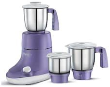 Pigeon Viola 550W Mixer Grinder (Purple, 3 Jar)