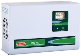 V-Guard VND 400 Electronic Voltage Stabilizer (White)