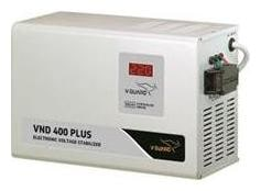 V-Guard VND 400 Electronic Voltage Stabilizer (Metallic Grey)