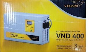 V-Guard VND 400 Voltage Stabilizer (Metallic Grey)