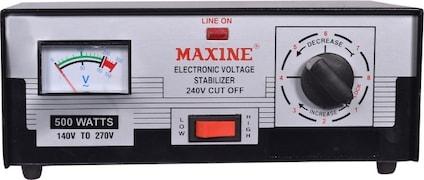 Maxine Voltage Stabilizer (Black)