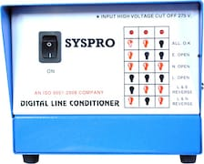 Syspro Voltage Stabilizer (Blue & White)