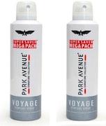 Park Avenue Voyage Deodorant Body Spray (440ML, Pack of 2)