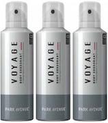 Park Avenue Voyage Deodorant Body Spray (300ML, Pack of 3)