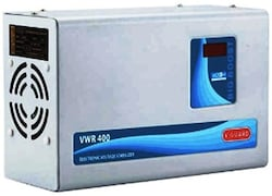 V-Guard VWR 400 Voltage Stabilizer (Black)