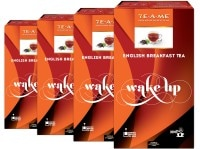 TE-A-ME Wake Up English Breakfast Black Tea (200GM, Pack of 4, 400 Pieces)