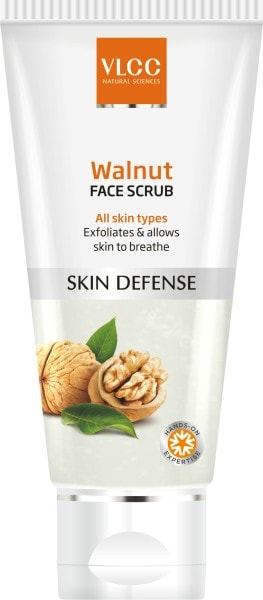 VLCC Walnut Skin Defense Face Scrub (150ML)