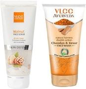 VLCC Walnut Skin Defense Face Scrub (Pack of 11)