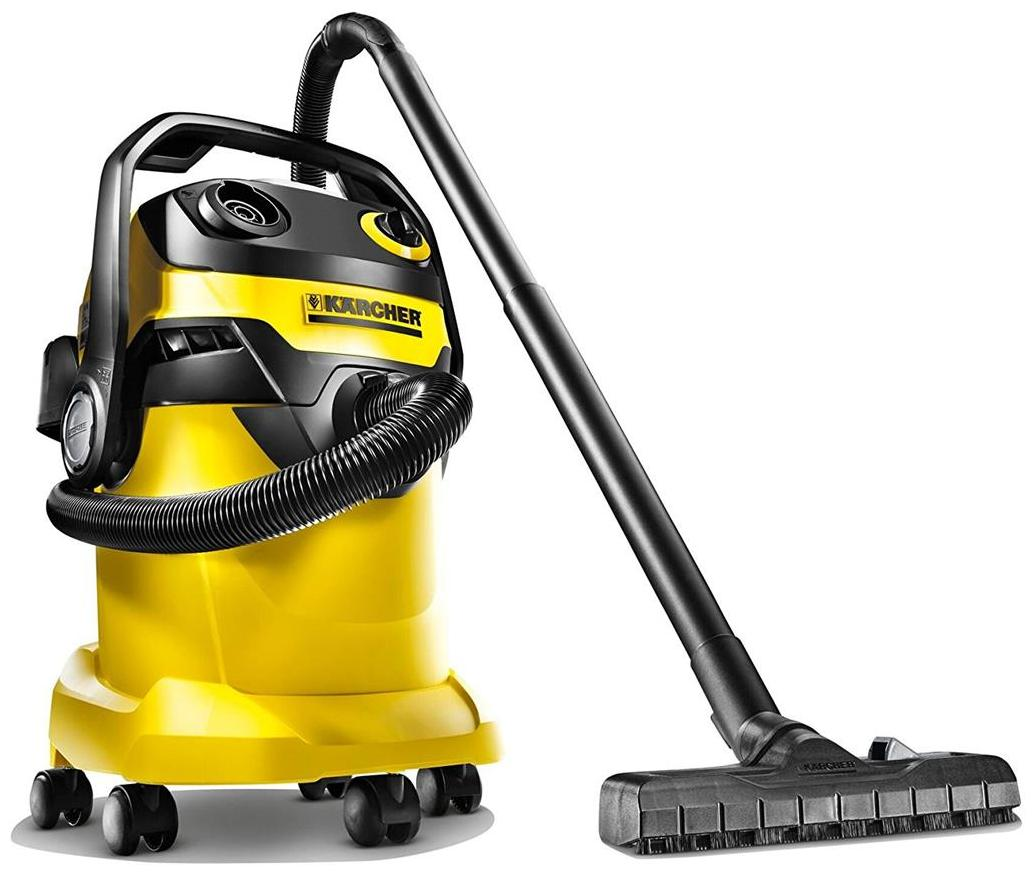 Karcher WD5 Wet And Dry Vacuum Cleaner (Black & Yellow)